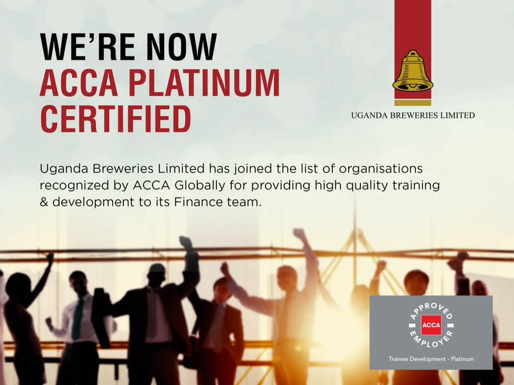 UBL awarded the ACCA Approved Employer certificate