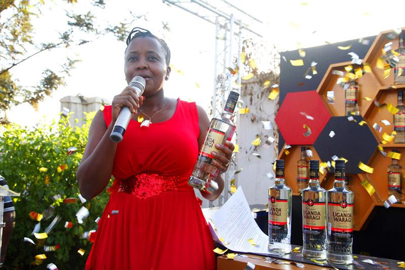 Grace Nshemeire Gwaku Uganda Waragi