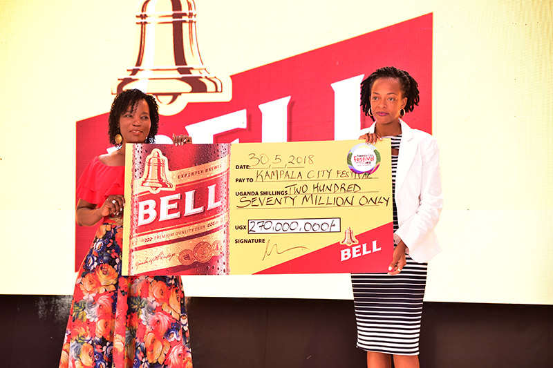 Bell Lager gives 2018 Kampala City Festival 270 million boost