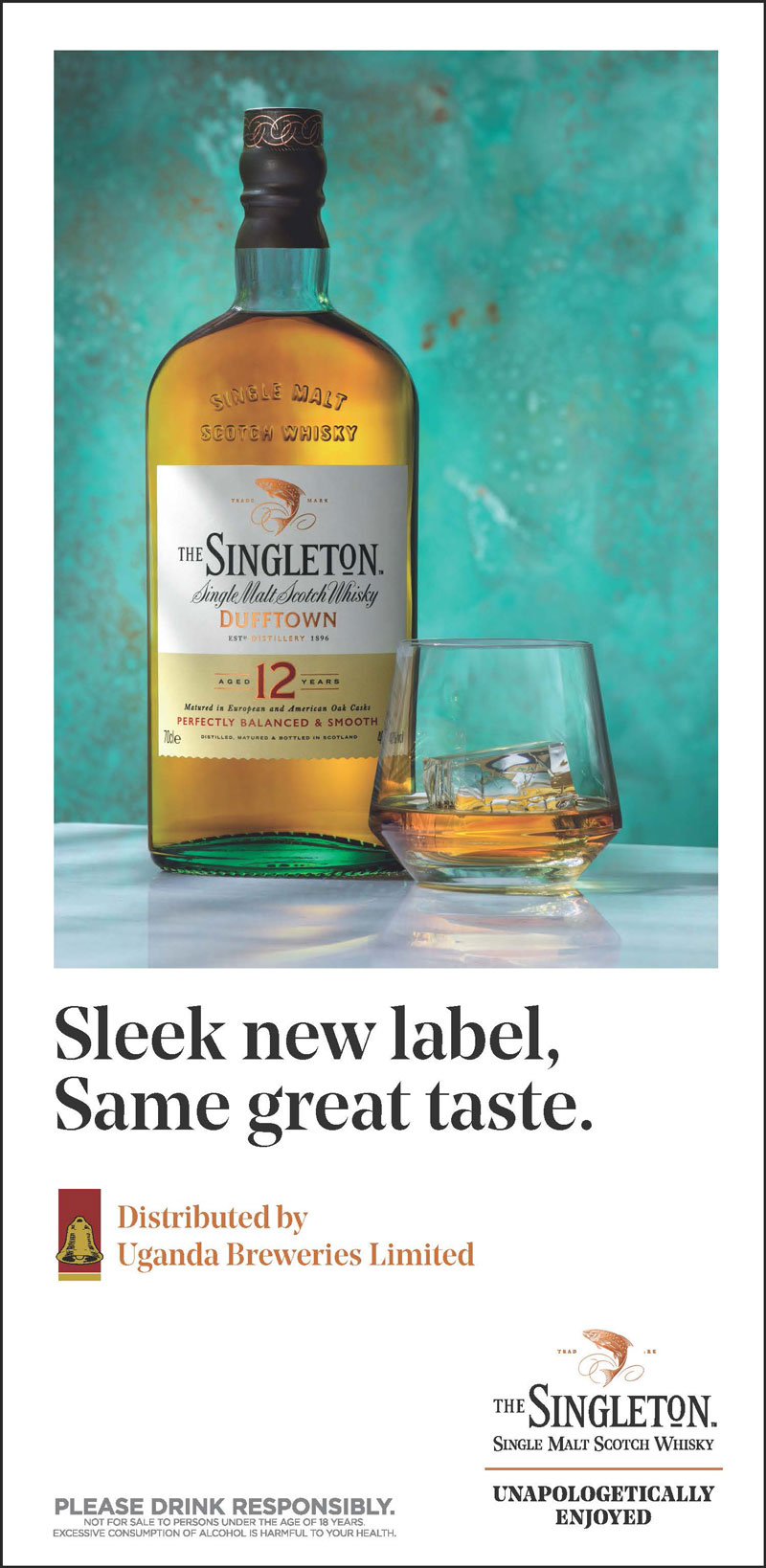 Meet the new Singleton Bottle
