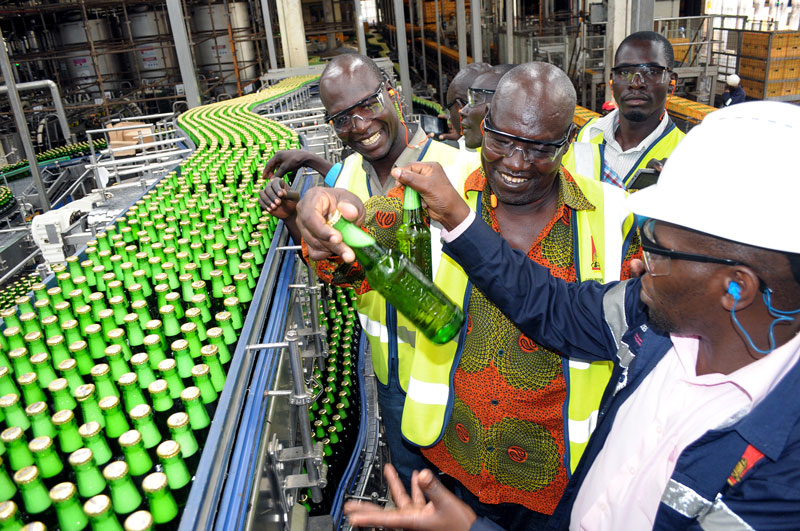 Uganda Breweries Limited hosts Farmers from Northern Uganda
