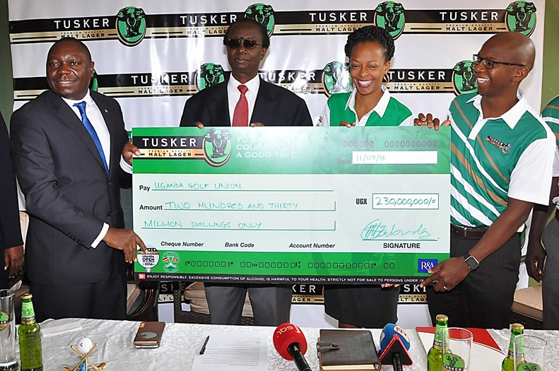 tusker malt 82nd Gold Open