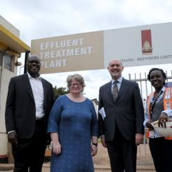 UK Minister for Environment Visits Uganda Breweries Limited