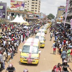 Bell dazzles at Kampala