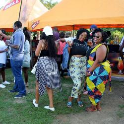Reggae Vibes Excite Revelers at Roast & Rhyme