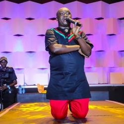 Salvado confirms he is comedy king after breathtaking performance