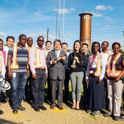 Japanese Ambassador visits Uganda breweries